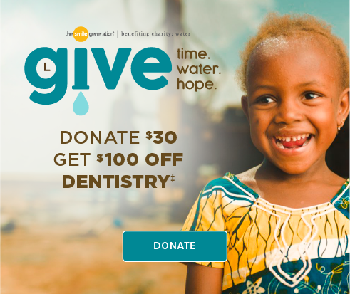 Donate $30, Get $100 Off Dentistry - PCH Smiles Dentistry and Orthodontics